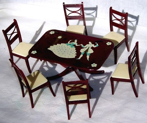 106 best images about things that i have and love on for Stenciled dining room table