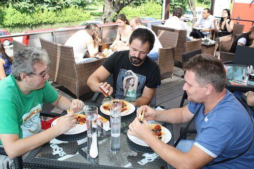 Concurs de pizza picanta la Trattoria di Parma