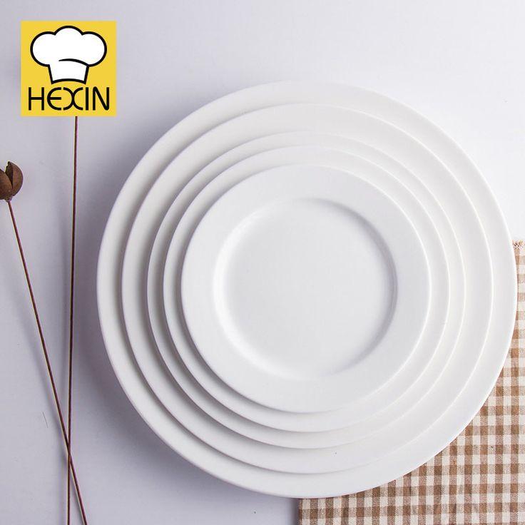 Round Dinner Plate | Restaurant Dinnerware & 36 best Serving Platters | Commercial Dinnerware | Hexin images on ...