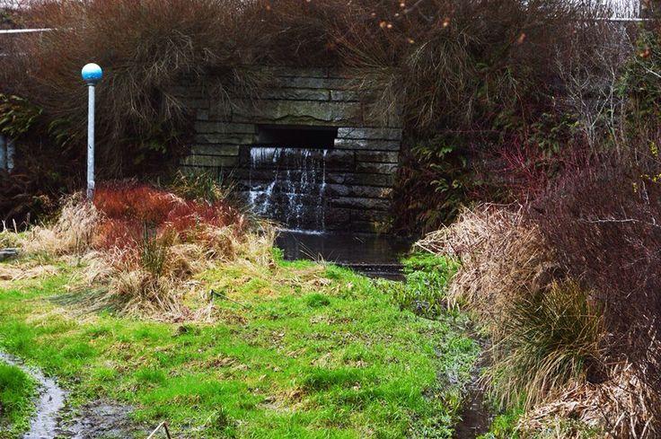 Hidden water falls