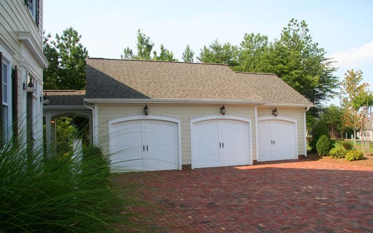 Detached Garage With Breezeway Detached 3 Car Garage