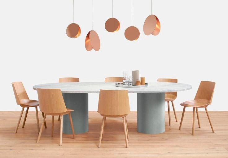 Oval Hiroki Table by Philipp Mainzer | E15 | DomésticoShop