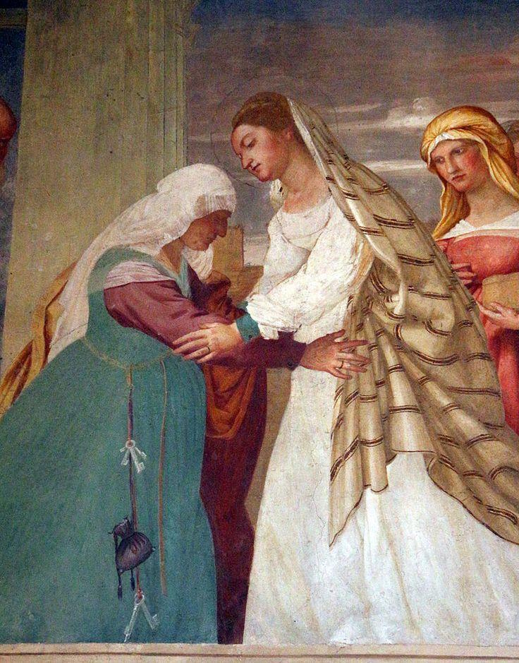 Lorenzo lotto, storie di maria, 1525, visitazione 5.JPG