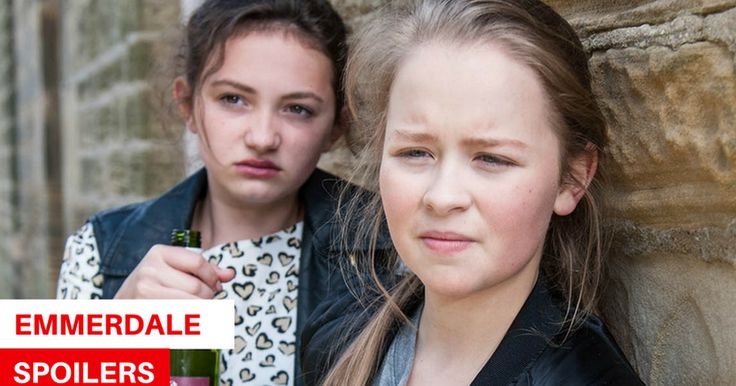 Emmerdale spoilers: Gabby collapses after going on a drinking binge, then is rushed to hospital #emmerdale #spoilers #gabby #collapses…