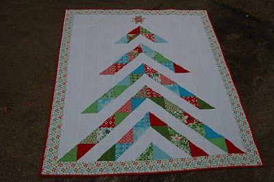 Moda Bake Shop: Oh, Christmas Tree Quilt