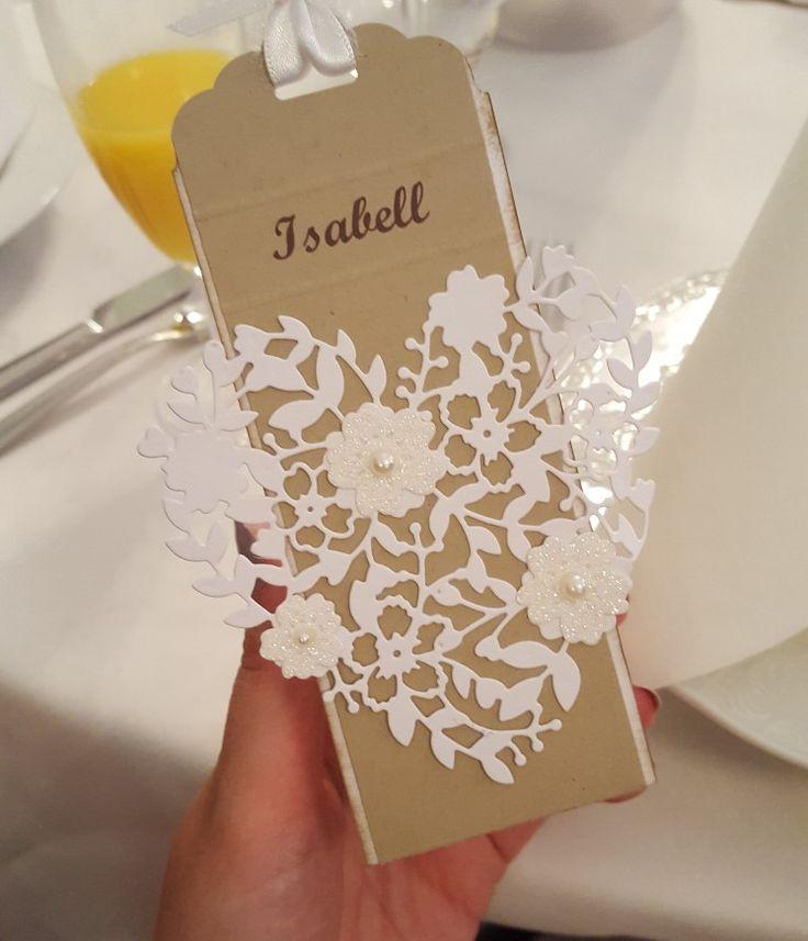 Hochzeit Namenschilder DIY