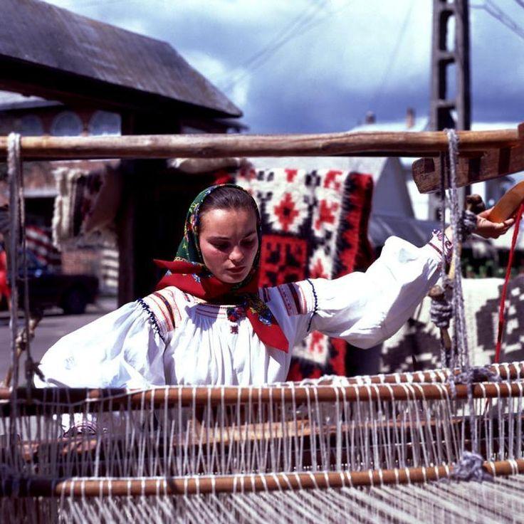 Weaving, Sapanta, Romania, Peisaje din Romania - Sapanta   Tesatoare (1)