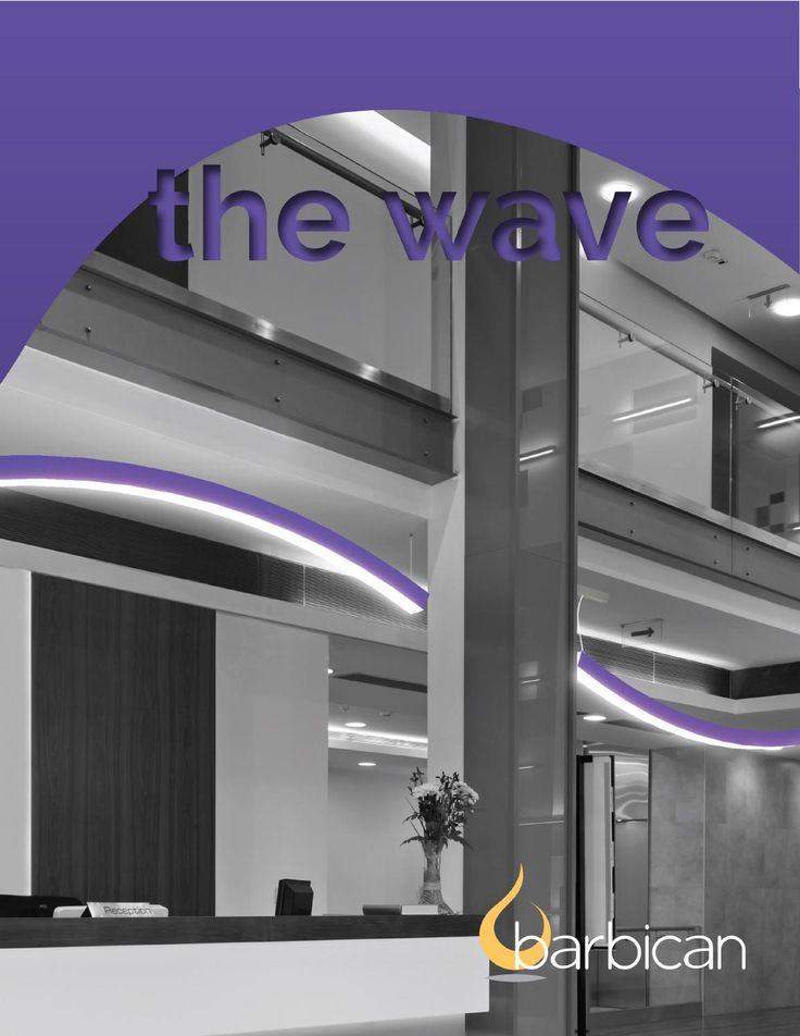Wave brochure - New high performance LED lighting system offering distinctive and compact design.