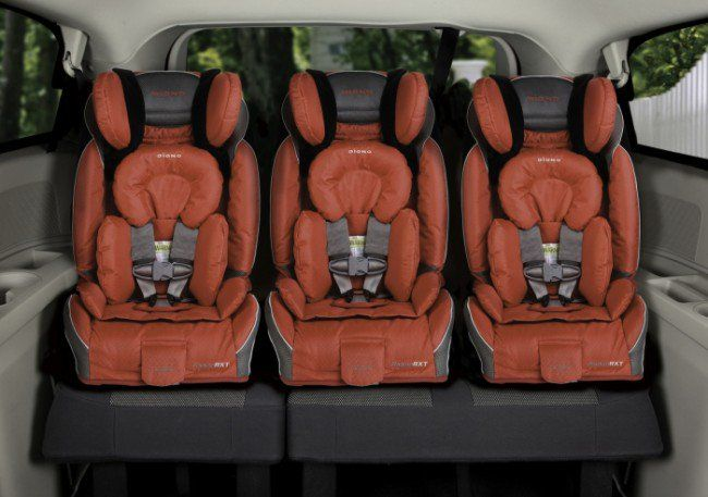 21 car seats that fit three across in most vehicles! Anyone with 3 kids (or more)  knows the struggle is real.