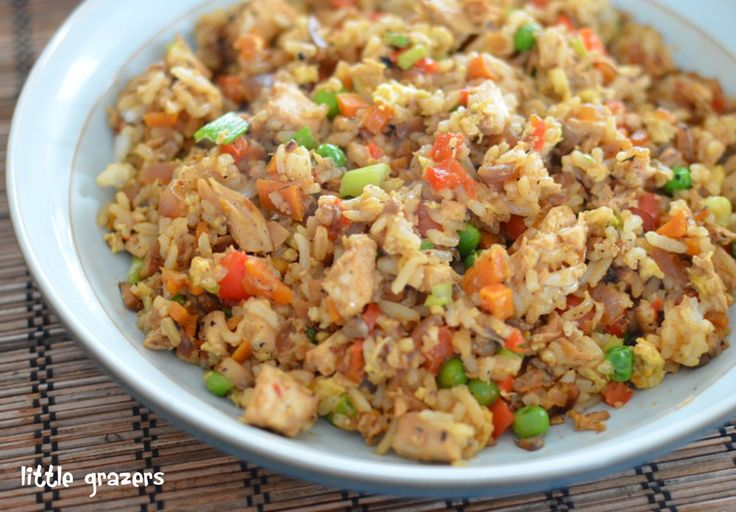 This rice dish is really versatile, you can add pretty much any vegetables you like and is a hit with kids. It is great served on it's own or part of a main meal. Chicken Fried Rice Serves 4 …