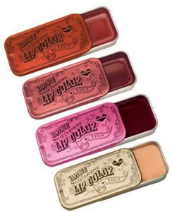 i loved these! Lip gloss in a tin
