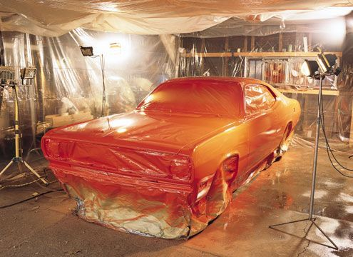 How to Paint Your Car at Home