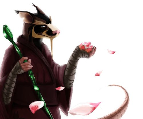 Serene Splinter. This picture is so beutiful.