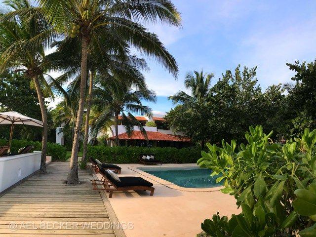 Pool at Hotel Esencia, Riviera Maya, Mexico. Ael Becker Weddings, luxury travel & weddings blogger