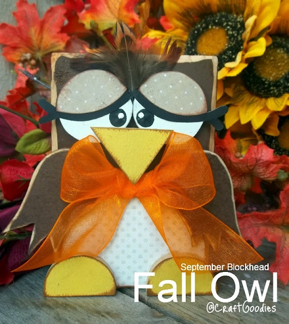 2x4 block owl