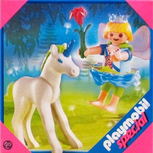 Playmobil 4692 Special Figure Fairy Tale Child Girl Fairy Baby Unicorn  #PLAYMOBIL