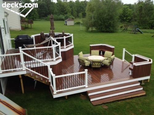 3 Color Deck Ideas : Best images about deck and dock stain colors on porch designs stains decking