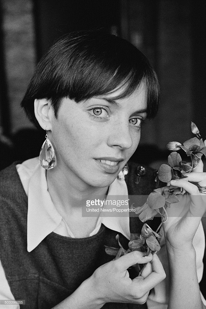 English actress Cindy Shelley who plays Alice Courtenay in the television drama series 'Tenko' posed in London on 24th September 1984.