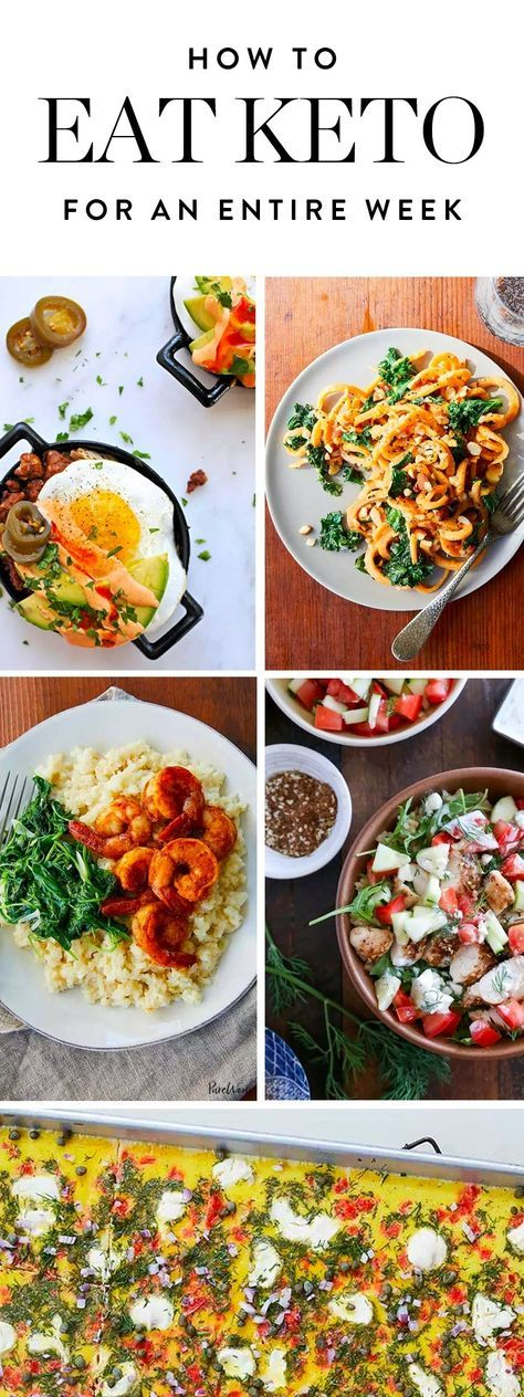 It's time to give the ketogenic diet a whirl. We've rounded up a week's worth of creative keto recipes to get you started—or keep you going. (Zero boring egg dishes, we promise.)