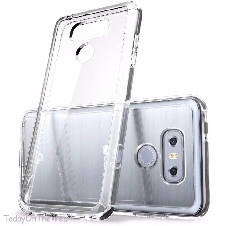 LG G6 i-Blason Clear [Halo Series] Shock Absorbing Bumper Clear Case  | eBay