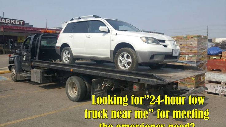 24 Hour Tow Truck Near You To Rescue From An Emergency