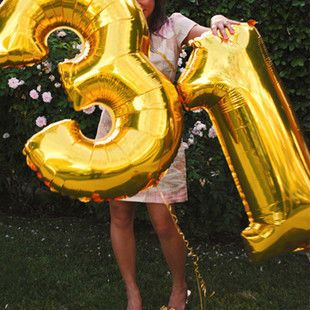 #40inch number balloon, #Foil number Balloons, #helium number balloons