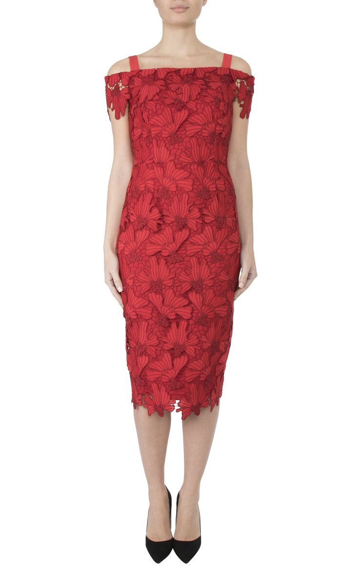 Occasion Wear   Cherry Lace Dress