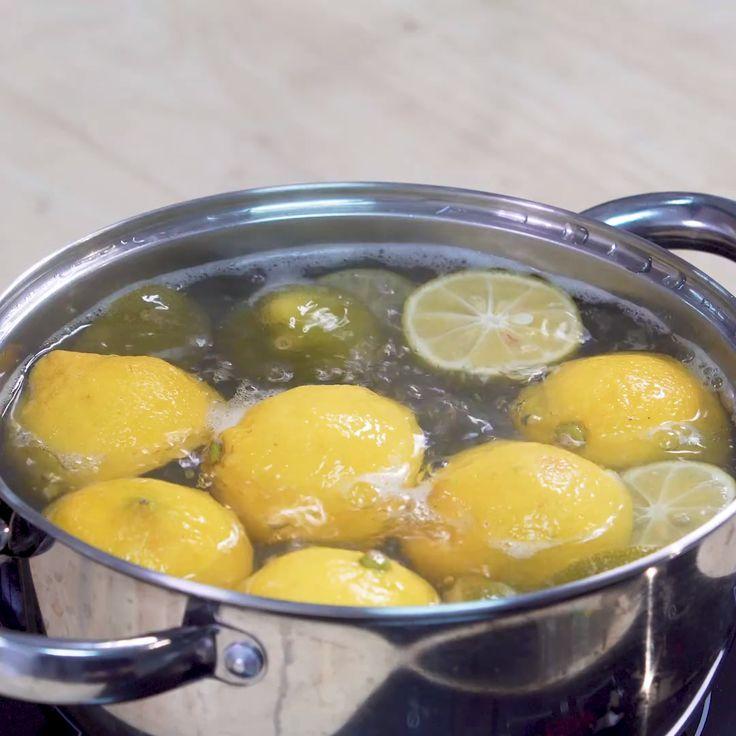 Отварить лимоны для похудения