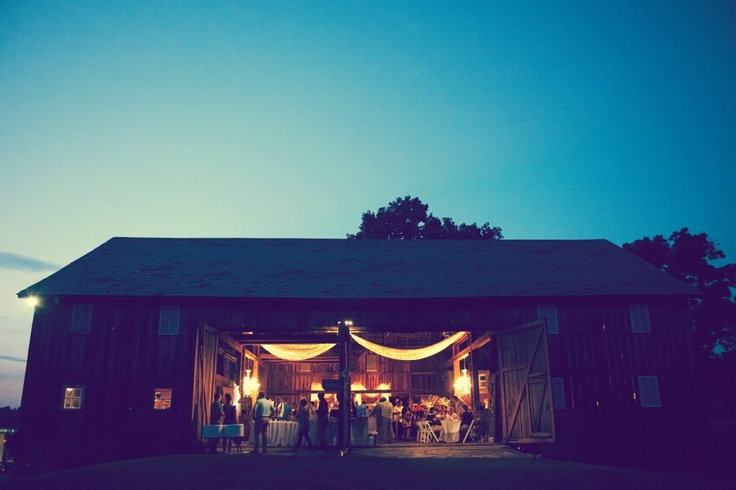 The Farmhouse Weddings - Exterior Barn View    (photo © copyright Imagination Photography): Farmhouse Nappane, Trav'Lin Lights, Wedding Receptions Venues, Barns View, Wedding Photos, Exterior Barns, Farmhouse Wedding, Imagination Photography, View Photo