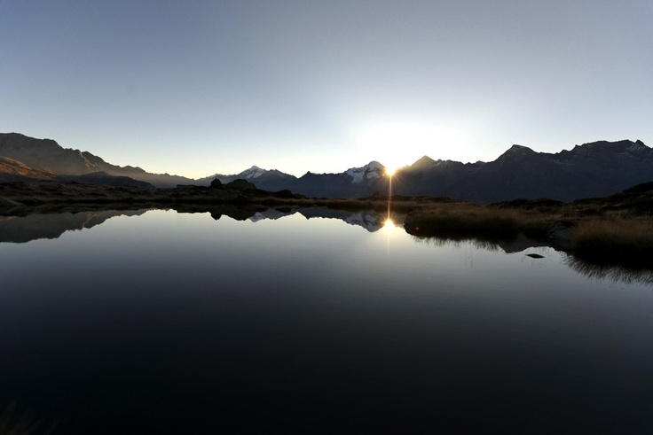 Sonnenaufgang am Sam - Sankt Peter - Ahrntal - Südtirol