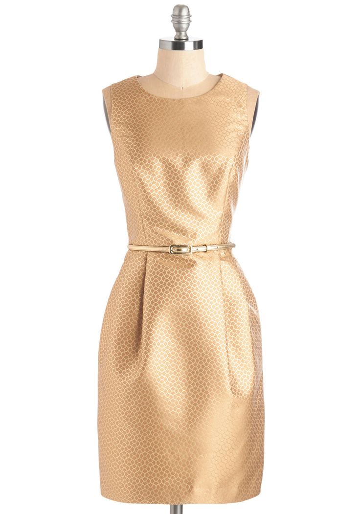 Special Occasion - The Gold and the Beautiful Dress