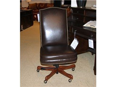 Shop for Goods Furniture Outlet - Hickory Seven Seas Executive Swivel Leather Chair by Hooker Furniture, EC373-089, and other Home Office Chairs Item Location: Hickory Store - Phone: (828) 855-3220 Limited availability. Please call for details.