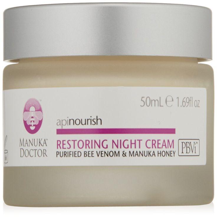 Manuka Doctor, Apinourish, Restoring Night Cream, 1.69 fl oz (50 ml)