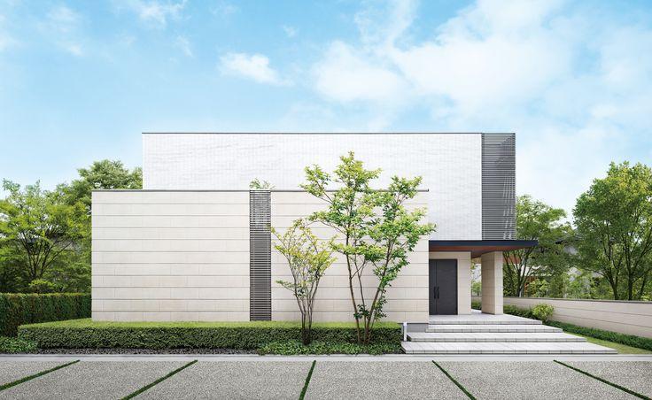 """""""箱""""の造形美が印象的。モダンデザインの郊外型邸宅 - [木造住宅・木の家]"""