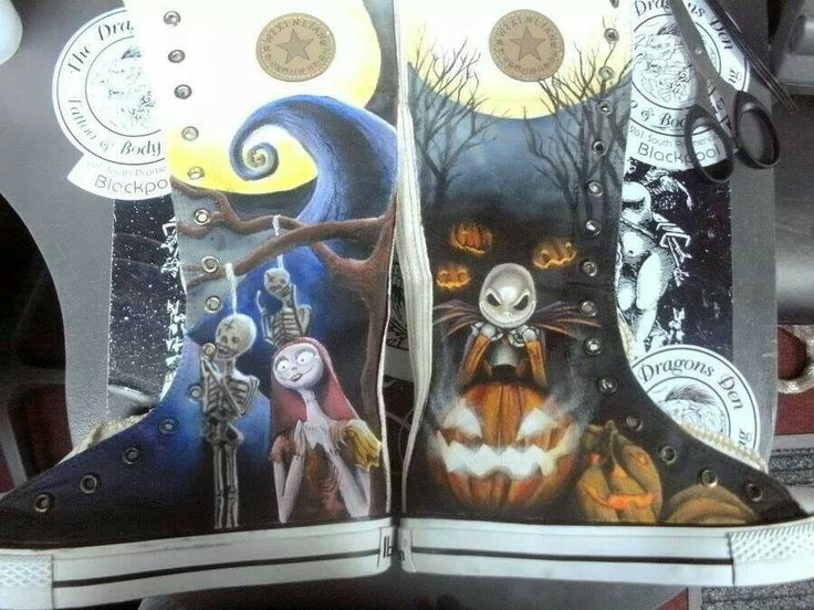 Nightmare before Christmas boot shoes