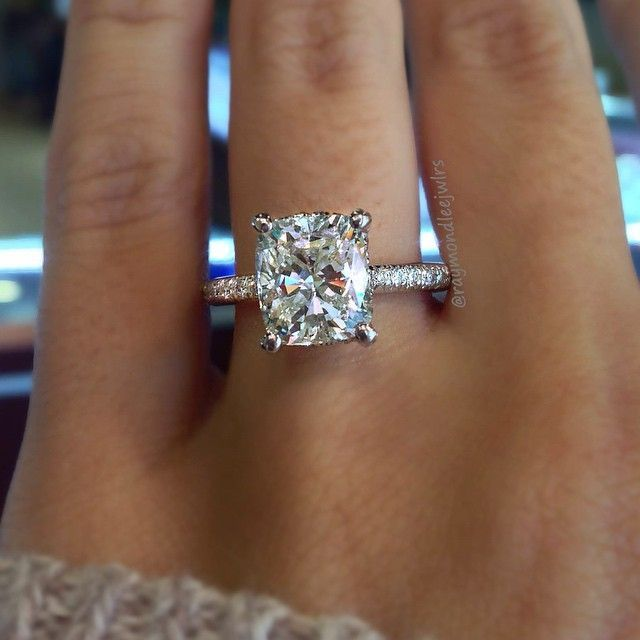 Top 10 Engagement Ring Cuts Rings Pinterest And