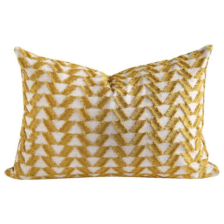 Fringe Benefits, Lemongrass Pillow – Tonic Living