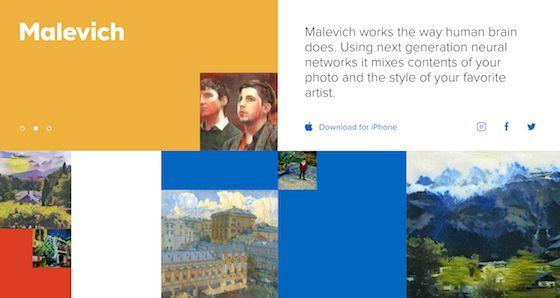 あなたの写真を有名画家風に仕上げてくれる『Malevich』 | 100SHIKI