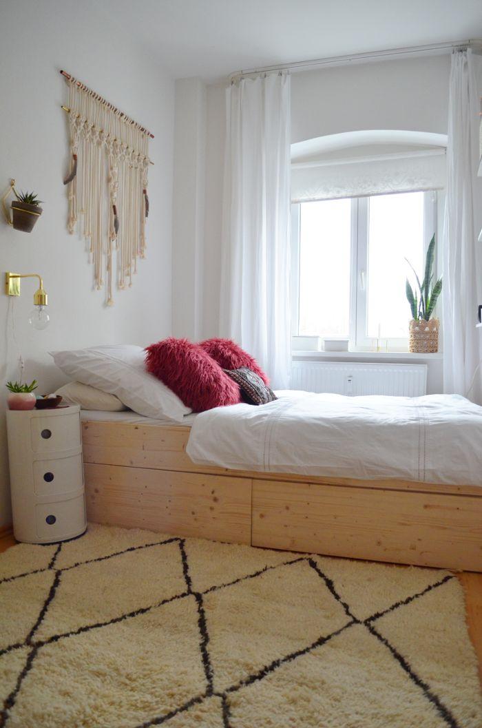Endlich! Endlich ist es soweit und ich kann euch mein so lang ersehntes Bett präsentieren. Ein Bett, das nicht nur durch seinen super-cl...