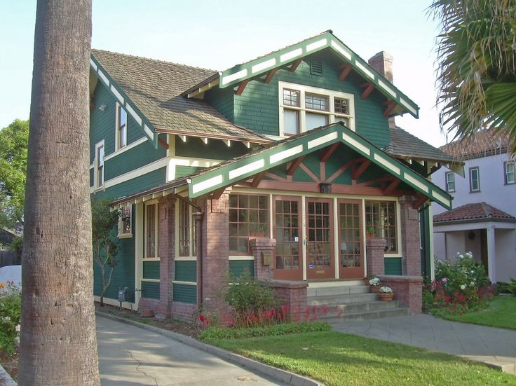 Exciting Craftsman Style Home Colors Exterior Marvelous