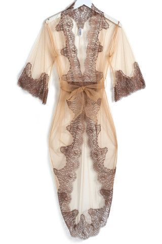 Gorgeous lace lingerie kimono! Slip into something sexy at hookedupshapewear.com!