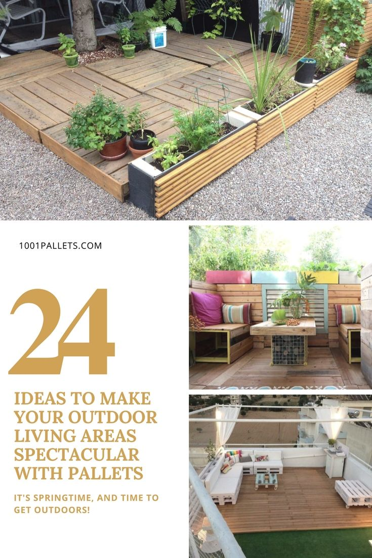 24 Ideas To Make Your Outdoor Living
