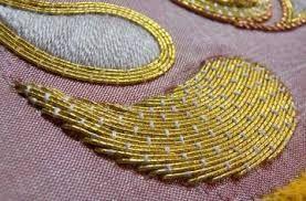 Image result for zardosi work sarees