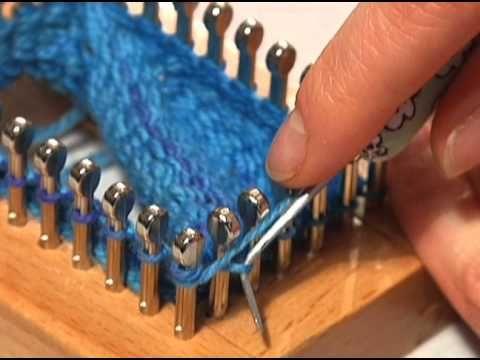 Sock Loom: Heel and Toe Part 2 - YouTube