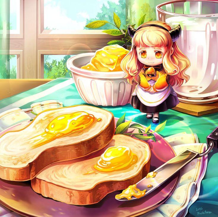 Butter Fairy by Mushstone on DeviantArt