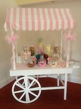 Traditional Candy Cart Hire Party/Wedding/Christening Pick'n'Mix Sweetie Buffet - Sweet Touches