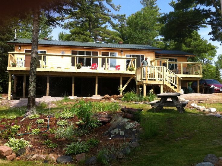 Welcome To Brother Bear Lodge Located On White Iron Lake Outside Ely, MN.