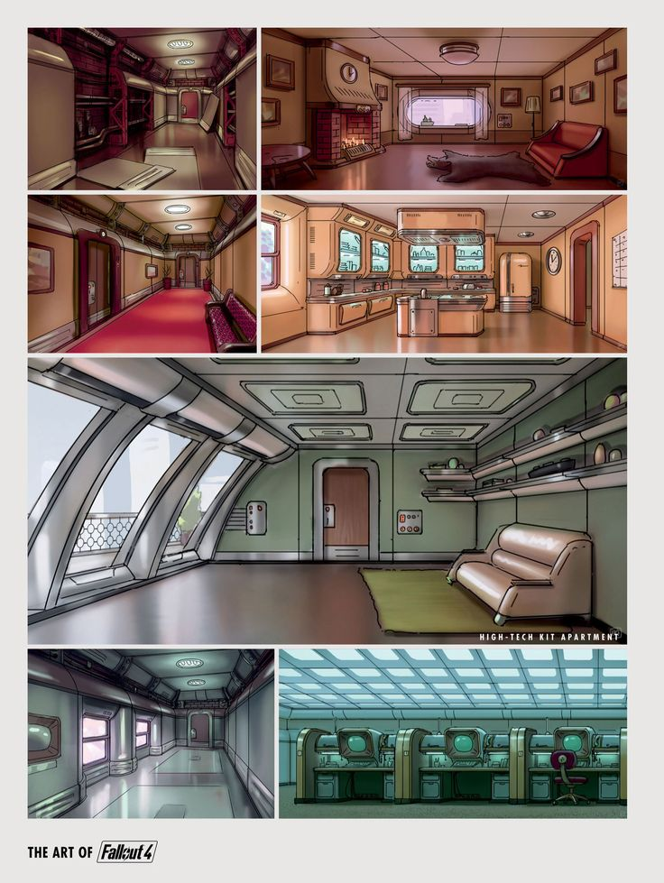 Pin by valery malov on environment pinterest fallout for Fallout 4 interior decorating