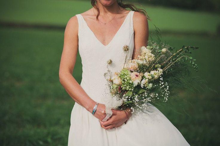 Laure de Sagazan Cape Boho Outdoor Wedding LPM Bohemia Tent With Fern Lining Red Bridesmaids Dresses Maureen du Preez Photography