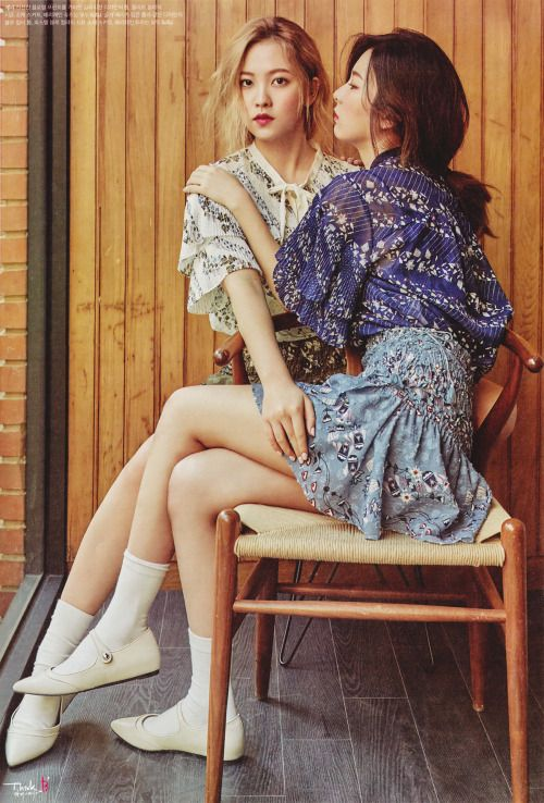 Red Velvet for High Cut Magazine April 2016 Issue cr; Think B